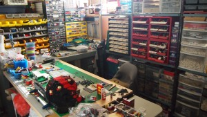 My Lego Room, Dec. 2011