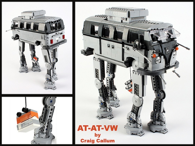 This is one of the awesome things that happen when a LEGO designer has too much time on their hands.